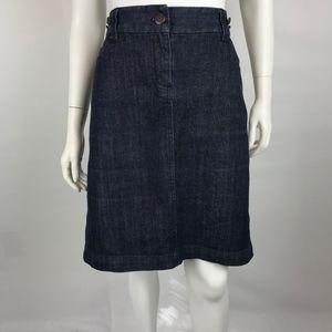 J. Crew Denim Jean Pencil Skirt